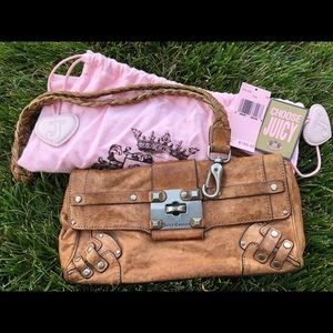Juicy Couture leather clutch